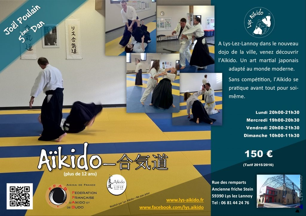 Lys Aikido - Affiche Aikido 2016-2017 v1.0.1